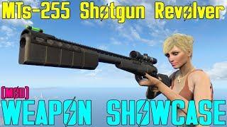 Fallout 4 - Weapon Showcases - MTs-255 Shotgun Revolver