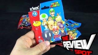 Collectible Spot - K'nex Nintendo Super Mario Blind Bag Figures Series 4 OPENING!