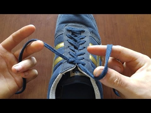 Tie Your Shoes Faster With The Ian Knot