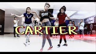 "Dopebwoy ""CARTIER"" Ft. Chivv & 3robi | Ajeesh Krishna X Shania Rawther Choreography"