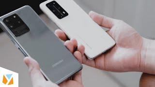 Huawei P40 Pro+ vs Samsung Galaxy S20 Ultra Comparison Review