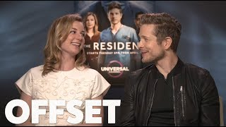 Emily VanCamp and Matt Czuchry on learning medical lingo for The Resident
