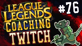NEACE: TWITCH ADC COACHING 76, SILVER, CLEANING UP MID GAME  PLAYING AROUND BIG COOLDOWNS