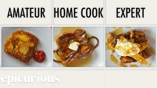 4 Levels of French Toast: Amateur to Food Scientist | Epicurious