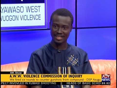 AWW Violence Commission Of Inquiry - AM Show on JoyNews (19-2-19)
