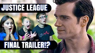 JUSTICE LEAGUE Official Heroes Trailer Reaction!!!