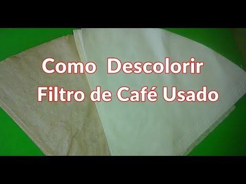 Descolorir Filtro de Café