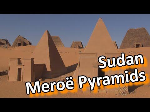 Sudan - Meroe pyramids