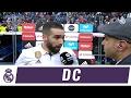 Dani Carvajal justo al acabar el partido contra e - Vídeos de Carvajal del Real Madrid