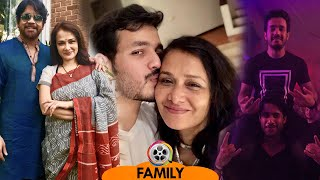Amala Akkineni Family with Husband Nagarjuna, Sons Akhil & Naga Chaitanya - Download this Video in MP3, M4A, WEBM, MP4, 3GP