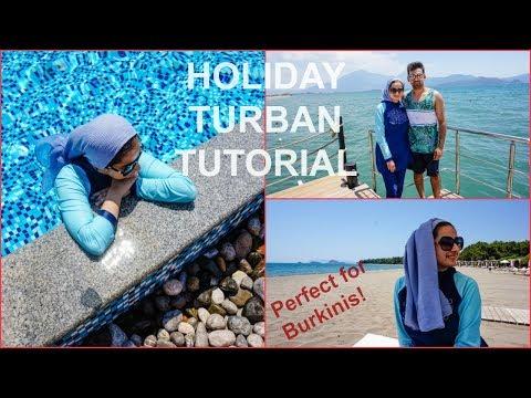 Turban Tutorial For A Burkini | SHUMIDEE | 2017