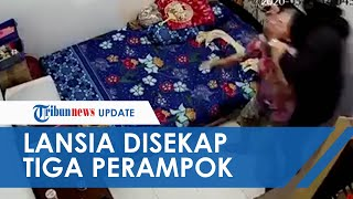 Viral Nenek di Pontianak Disekap dan Dirampok di Rumahnya Terekam CCTV, Pelaku Berasil Ditangkap