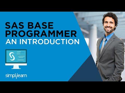Introduction To SAS Base Programming Certification | Simplilearn ...