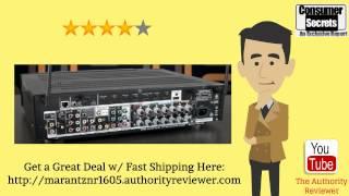 [Review & SALE] Marantz NR1605 7.1 Slim Line 4K Ultra HD A/V Receiver