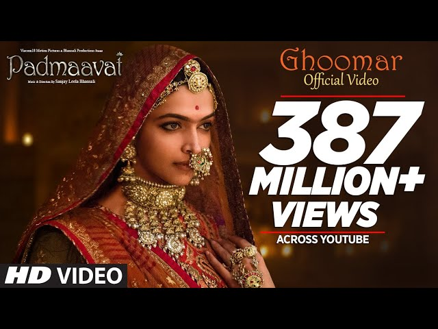 Ghoomar Video Song HD | Padmavati Movie Songs | Deepika | Shahid | Ranveer