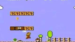 Small Fireball Mario (Super Mario Bros NES)