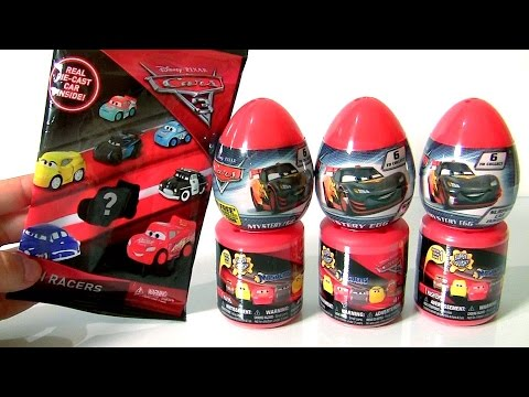 CARS 3 Mini Diecast Mystery Blind Bags Surprise
