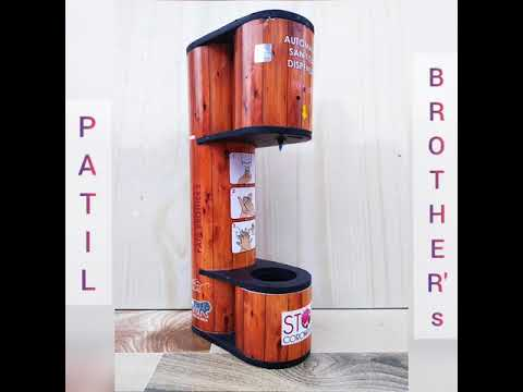Automatic Sanitizer Dispenser - Patil Brothers
