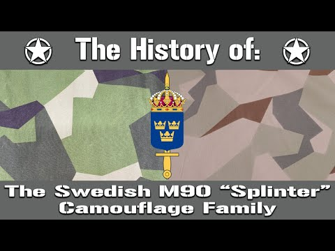 "The History of The Swedish M90 ""Splinter"" Camouflage Family   Uniform History"