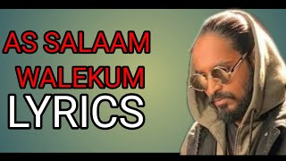 As Salaam Walekum Lyrics | Emiway Bantai | Flam Boy