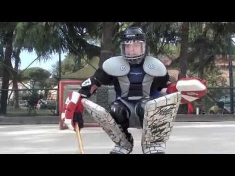 Hockey: il portiere