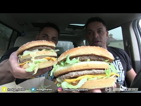 Eating McDonald's Grand Mac  @hodgetwins