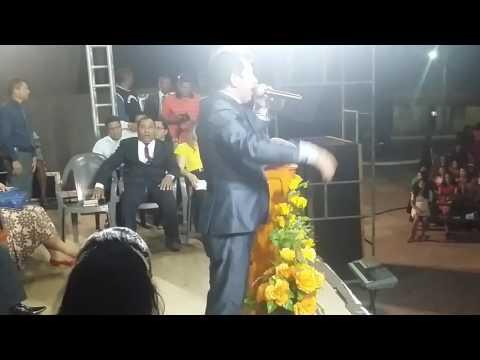 Pastor Jaime Rosa em bacurituba pra Cristo