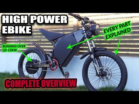 MY FASTEST EBIKE!!! - FULL OVERVIEW (EVERY PART)