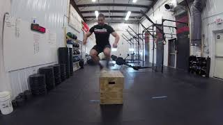 Landing Lateral Method | Box Jump Overs | Variation 3 of 5