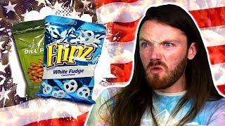 Irish People Try American Pretzels