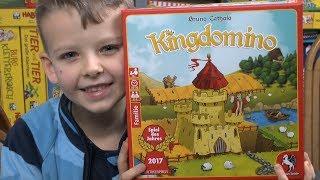 Kingdomino (Pegasus Spiele) - ab 8 Jahre - Spiel des Jahres 2017