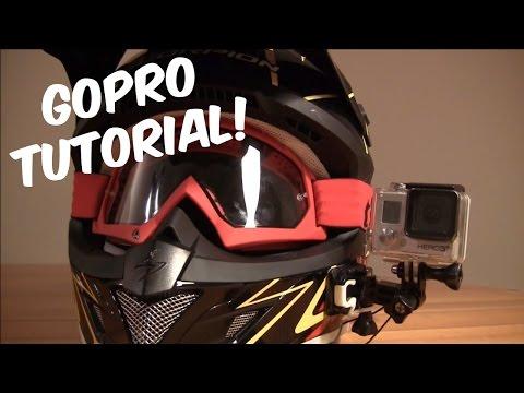 Come montare la Gopro sul casco lateralmente