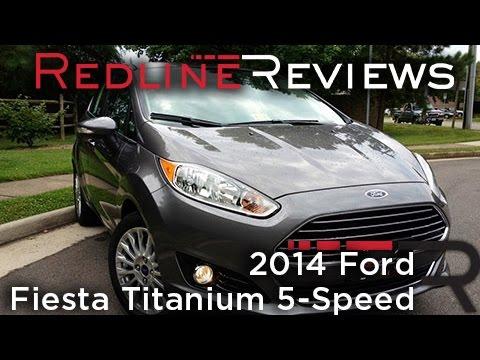 2014 Ford Fiesta Titanium 5-Speed Review, Walkaround, Exhaust, & Test Drive