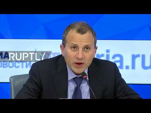 Russia: Lebanese FM demands return of Hariri at presser in Moscow