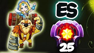FIRST LEVEL 25 EARTHSHAKER MASTER TIER - Dota 2 EPIC Gameplay Compilation