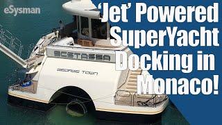 'Jet Powered' SuperYacht Docking in Monaco! Plus more Skat!