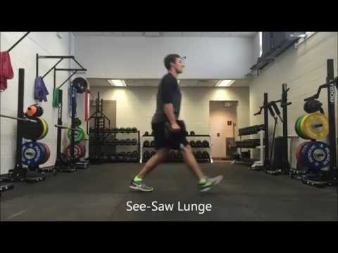 Resilient Performance PT - See-Saw Lunge