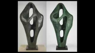 """The Conservation and Technical Examination of Barbara Hepworth's """"Figure for Landscape"""" (1960)"""