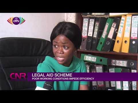 Legal aid in Ghana in trouble because of poor working conditions