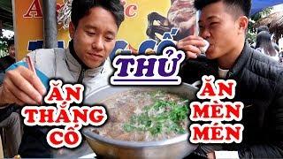 Ăn Thử MÈN MÉN Và THẮNG CỐ Tại Chợ Ẩm Thực Bắc Hà   Lào Cai   KP247