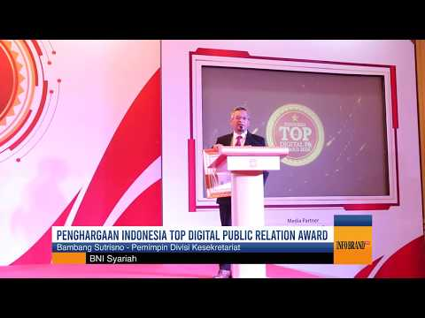 Kali Kedua, BNI Syariah Raih Penghargaan Indonesia Top Digital Public Relations Award 2020
