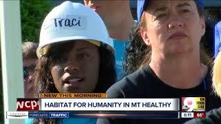 Single mom, women volunteers build her Habitat for Humanity house