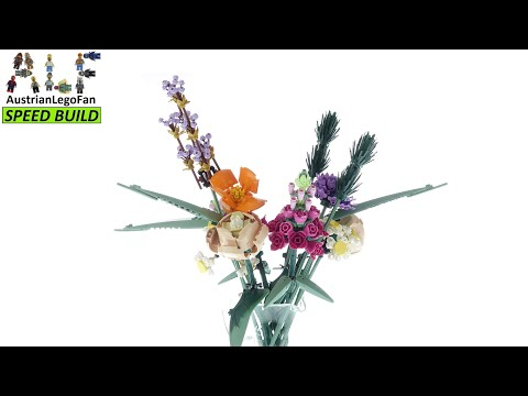 Vidéo LEGO Creator 10280 : Bouquet de fleurs