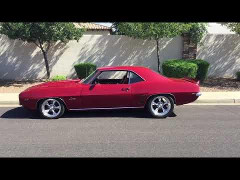 Video of Classic 1969 Camaro located in Mesa Arizona - $25,000.00 - KU2H