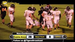 Prairie Grove (42) vs West Fork (0) 2014
