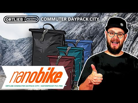 Ortlieb Commuter Daypack City wasserdichter Rucksack PVC-frei | Review (German)