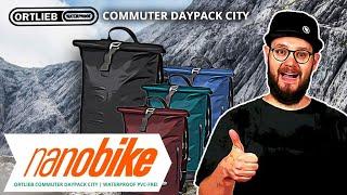 Ortlieb Commuter Daypack City wasserdichter Rucksack PVC-frei | Review (German)