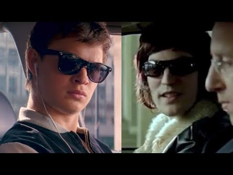 The Baby Driver opening scene is based on a music video by the same director staring Noel Fielding (Side by side comparison)
