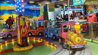 Ambience Mall Gurgaon | Amazing Gaming Parlour | Christmas Evening 25th Dec 2020 | Part - 1