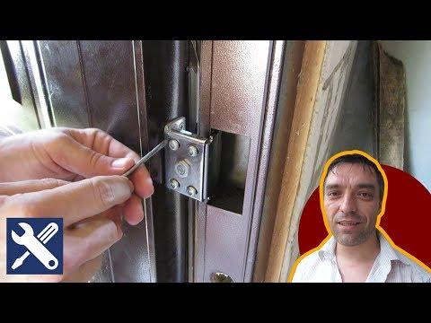✅ Ремонт и регулировка петель китайской двери / Мелкий ремонт